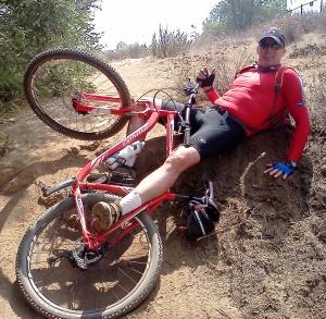 Griff Biking Author Photo