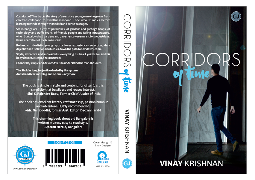 Cover Reveal: Corridors of Time by Vinay Krishnan | redpillows
