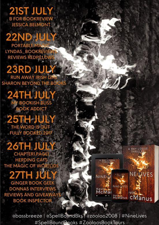 Nine Live Book Tour Poster