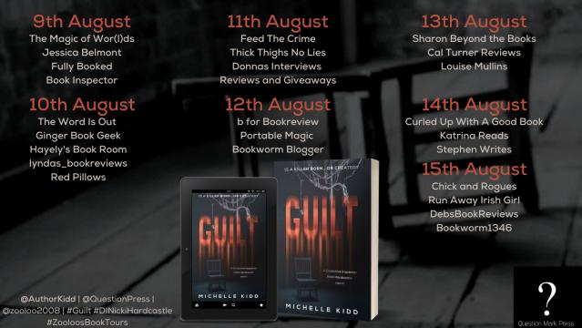 Guilt Book Tour Poster